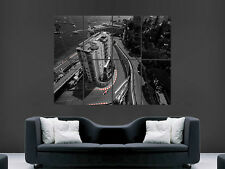 F1 FORMULA ONE MONACO GRAND PRIX   HUGE LARGE WALL ART POSTER PICTURE