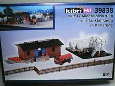 Kibri-Walthers HO Klett Mineral Depot Facility KIT NIB! #39838
