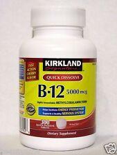 Kirkland Signature Quick Dissolve B-12 5000 mcg 300 Tablets, Methylcobalamin
