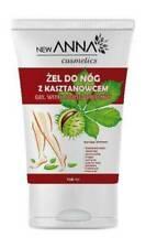 New Anna Horse Chestnut Gel Varicose Veins Tired Aching Legs Spider Vein 150ml