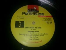 GREGORY ISAACS - DON'T WANT TO LOSE
