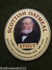 BEER PUMP CLIP - SCOTTISH OATMEAL STOUT