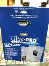 200  Ultra Pro 9 POCKET COUPON SLEEVE FOR 3 RING BINDER
