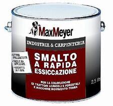 Smalto a rapida essicazione per colorazione trattori agricoli Max Meyer 0,750 lt