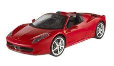 "Ferrari 458 Italia Spider ""Rosso"" (Mattel 1:18 / W1177)"