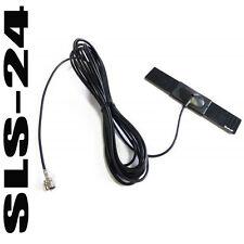 Dietz 1497 vetro ANTENNA ANTENNA ADESIVA attivamente per il DVB-T Tuner Connettori F Cavo 5m