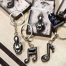 Portachiavi nota musicale chiave violino bomboniera utile scatolo matrimonio