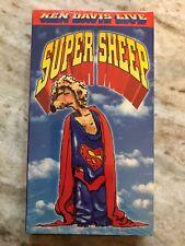 Super Sheep Ken Davis Live VHS 1996-TESTED- RARE VINTAGE COLLECTIBLE-SHIP N 24HR
