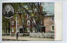 (Gw772-449) Longfellows Mansion, Maine, USA Used 1910 VG+