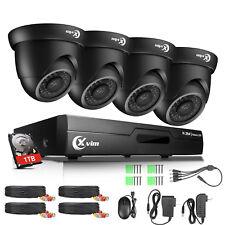 Xvim 8Ch 5in1 1080P Hdmi Cctv Dvr 1500Tvl Security Camera System 1Tb Hard Drive