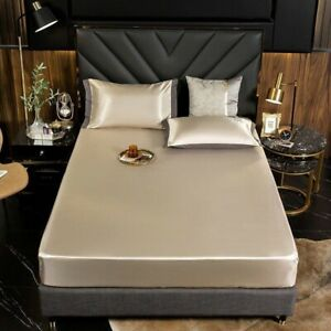 The cold feeling - Ice silk bed sheet
