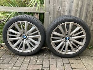 bmw 5 series F10 19inch alloys and tyres