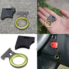 1PC EDC Pocket Tool Emergency Cutting Seat Belt Rope Thread Hook Knife Keyring