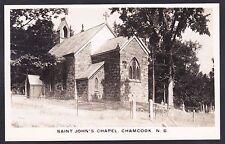 C1945 Real Photo RPPC Postcard Saint John's Chapel CHAMCOOK New Brunswick Canada