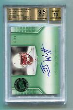 JJ Watt 2011 Press Pass Emerald Auto #17/99 Rookie RC BGS 9.5 Gem Mint
