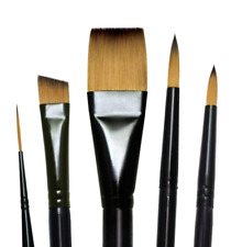 Royal and Langnickel Majestic Premium Watercolour Brush Set Pack of 5