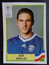 ☆ Panini Euro 2000 - Nisa Saveljic Yugoslavia  #218
