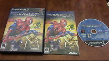 Spider-Man Friend or Foe Sony Playstation 2 PS2 Video Game Complete