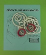 Allied Leisure Disco '79, Hearts Spades pinball rubber ring kit