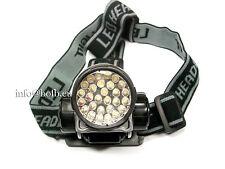 28 LED Kopflampe Stirnlampe Fahrrad Lampe 4 Funktionen Camping Lampe Neu hell