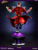 PCS Street Fighter M. Bison Statue by Pop Culture Shock Sideshow Collectibles