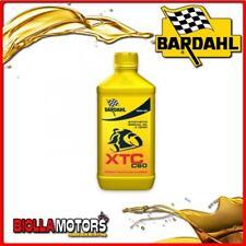 326140 1 LITRO OLIO BARDAHL XTC C60 10W40 LUBRIFICANTE PER MOTO 4T 1LT