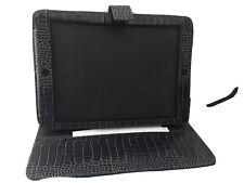 Smythson Ipad Case Dark Brown Leather