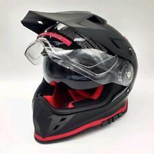 Motorcycle Helmet Integral Enduro/Motard MOTO GUZZI Ff V85 Matte Black/Red