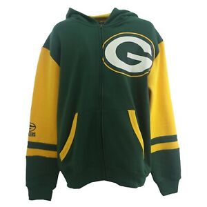 Green Bay Packers Official NFL Children's Youth Kids Size Full Zip Sweatshirt