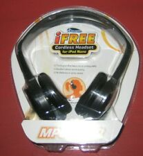 iFree Cordless Headset for iPod Nano Turns Nano to cordless MP3 No Wires/Battery