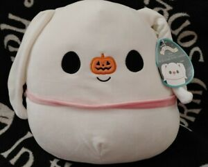 Kellytoy Squishmallow Disney Zero Nightmare Before Christmas Stuffed Toy NWT