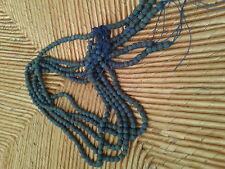 Perles en lapis lazuli 6 mm,  en enfilades, prix pour 1 enfilade