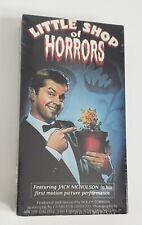 NEW The Little Shop of Horrors VHS UAV 1987 Horror Cult Roger Corman HTF SEALED