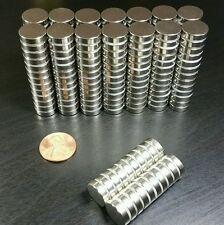 "50pc Neodymium magnets N52 Super Strong Rare Earth 1/2"" x 1/8"""