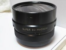 Wide-Screen super MAGNUM  Anamorphic Lens  - super rare  1.5x made in ENGLAND