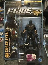 "SNAKE EYES Ninja Commando TORNADO KICK The Pursuit Of Cobra GI JOE 3.75"" Misb"