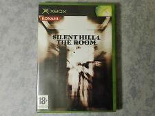 SILENT HILL 4 THE ROOM - HORROR - MICROSOFT XBOX ORIGINALE e 360 PAL COMPLETO
