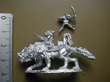 ORCS & GOBLINS/ GIANT WARG RIDERS / 1  X  METAL 15MM FIGS /S.L.M.