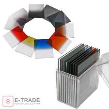 Filtro 10x + estuche-Type: cokin p ponte Filterset gris nd8 nd4 nd2 rojo azul/fk1