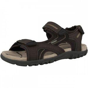 GEOX Respira Uomo Sandal Strada D Herren Sandalen Outdoor U8224D Brown Sand