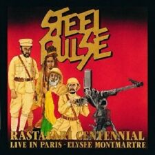 STEEL PULSE - RASTAFARI CENTENNIAL LIVE  CD  14 TRACKS REGGAE / POP  NEU