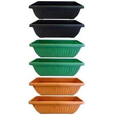 Unbranded Resin Flower & Plant Pots Boxes