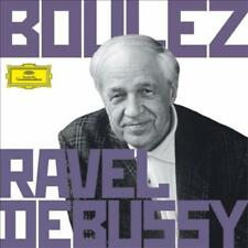 BOULEZ CONDUCTS RAVEL & DEBUSSY USED - VERY GOOD CD
