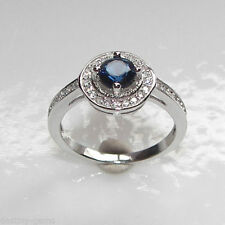 Sapphire Sterling Silver Simulated Fine Jewellery