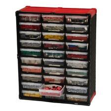 Small Plastic Parts Organizer Tool Storage Rack Bin Drawer Nuts Bolts Wall Bench