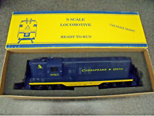 American Models S Scale Chesapeake & Ohio GP-9 Diesel Unused ? In The Orig. Box