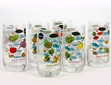 Set of 6 Drinking Glasses with Smoothies Recipes by Luminarc (6 pc, 12 oz ea)