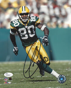 PACKERS Donald Driver signed 8x10 photo AUTO JSA COA Autographed Green Bay WR