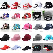 Men Women Sport Baseball Cap Snapback Hip-Hop Adjustable Bboy Summer Golf Hat