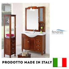 COMPOSIZIONE BAGNO FERIDRAS LEGNO MASELLO ARTE POVERA 105 CM 129004-B BICOLORE